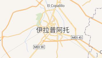 伊拉普阿托 - 在线地图