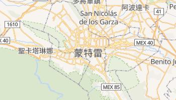 蒙特瑞 - 在线地图