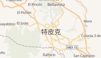 特皮克 - 在线地图