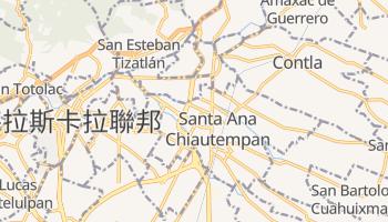 特拉斯卡拉 - 在线地图