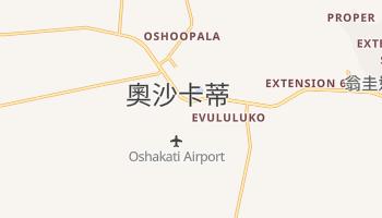 奧沙卡蒂 - 在线地图