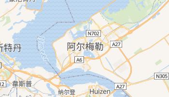 阿尔梅雷 - 在线地图
