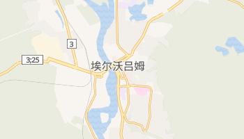 埃尔沃吕姆 - 在线地图
