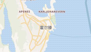 霍尔滕 - 在线地图