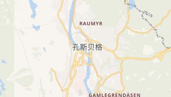 孔斯贝格 - 在线地图