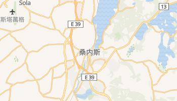 桑內斯 - 在线地图