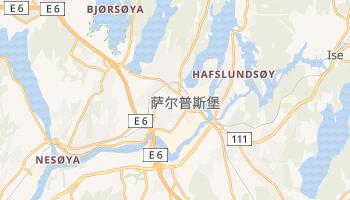 萨尔普斯堡 - 在线地图