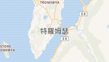 特罗姆瑟 - 在线地图