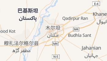 木爾坦 - 在线地图