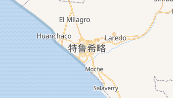 特鲁希略 - 在线地图