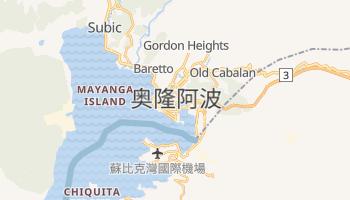 奥隆阿波 - 在线地图