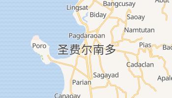 圣费尔南多 - 在线地图
