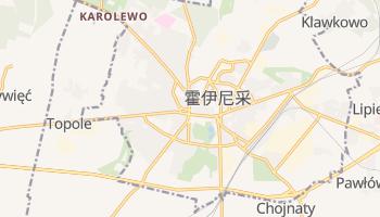 霍伊尼采 - 在线地图
