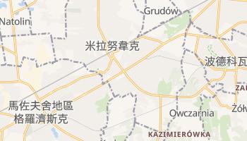 米拉努韋克 - 在线地图