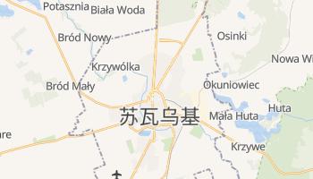 苏瓦乌基 - 在线地图