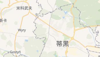 蒂黑 - 在线地图