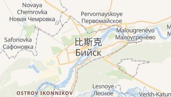 比斯克 - 在线地图