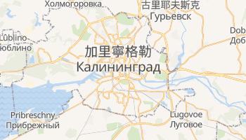 加里寧格勒 - 在线地图