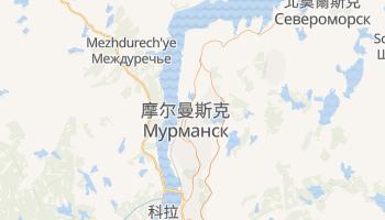 摩爾曼斯克 - 在线地图