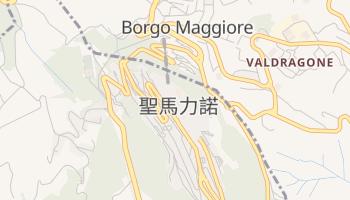 圣马力诺 - 在线地图