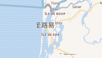 圣路易 - 在线地图