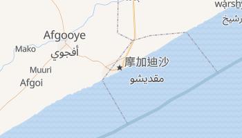 摩加迪休 - 在线地图