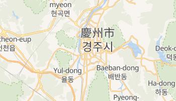 慶州市 - 在线地图