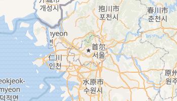 首爾 - 在线地图