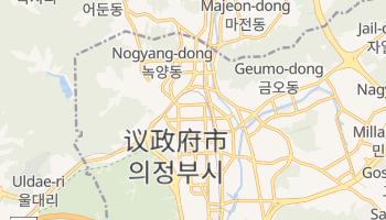 議政府市 - 在线地图