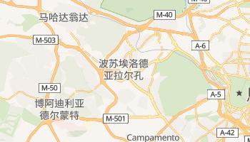 波苏埃洛德亚拉尔孔 - 在线地图