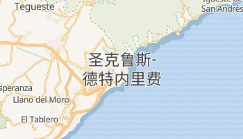圣克鲁斯-德特内里费 - 在线地图