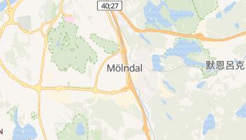 默恩达尔市 - 在线地图