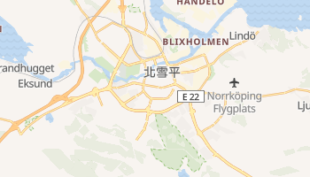 北雪平 - 在线地图