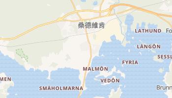桑德維肯 - 在线地图