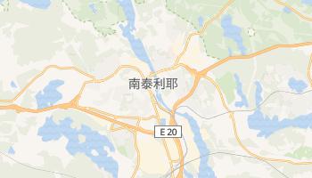 南泰利耶市 - 在线地图