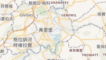 佛立堡 - 在线地图