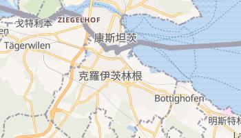 克羅伊茨林根 - 在线地图