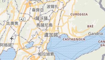 盧加諾 - 在线地图