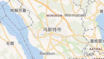 乌斯特市 - 在线地图