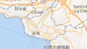 沃韋 - 在线地图