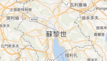 苏黎世 - 在线地图