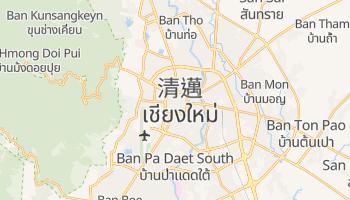 清迈 - 在线地图