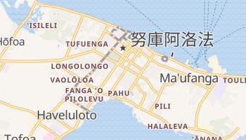 努库阿洛法 - 在线地图