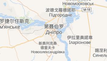 第聂伯罗彼得罗夫斯克 - 在线地图