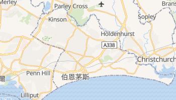 伯恩茅斯 - 在线地图