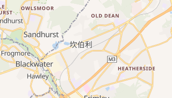 坎伯利 - 在线地图