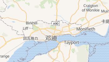 邓迪 - 在线地图