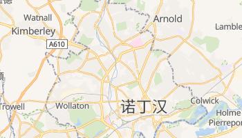 诺丁汉 - 在线地图