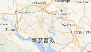 南安普敦 - 在线地图