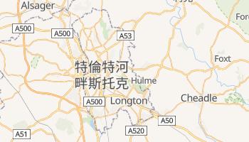 特倫特河畔斯托克 - 在线地图